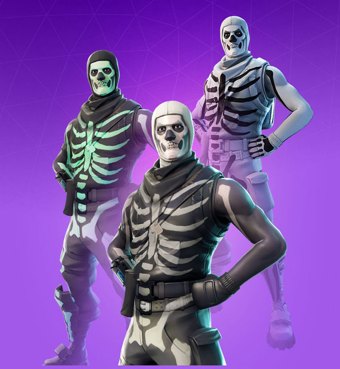 Skull Trooper Fortnite Skin