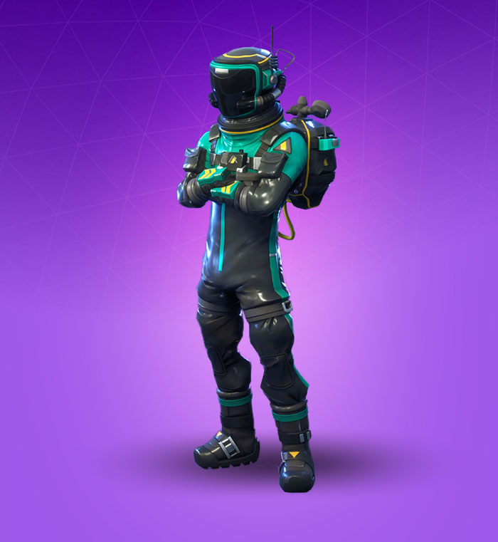 Toxic Trooper Fortnite Skin