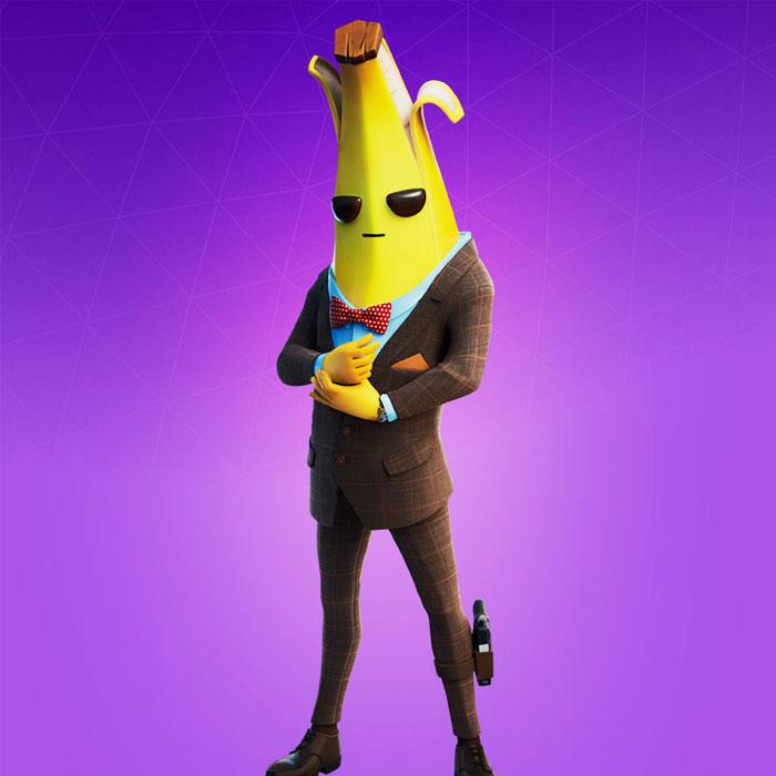 Fortnite Banana Skin