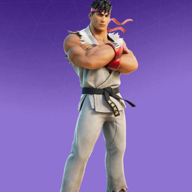 Ryu Fortnite Skin
